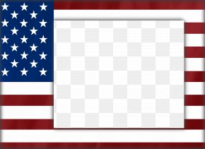 USA Frame Clipart - Flag Of The United States Flag Of Nigeria PNG