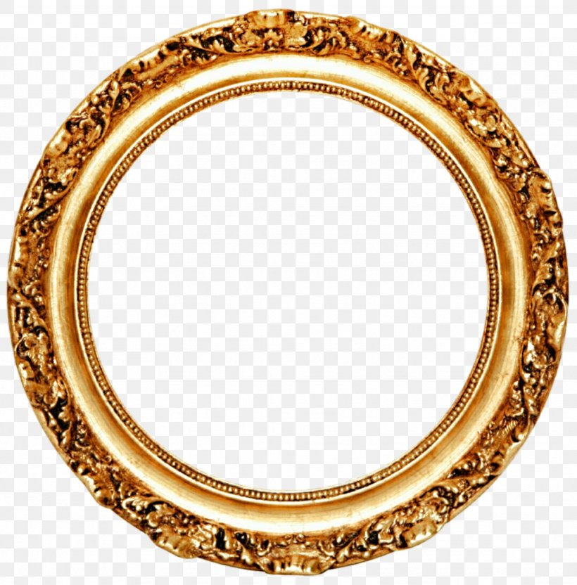 Picture Frame Mirror Circle Gold Leaf Png 1024x1039px Picture Frames Color Decorative Arts Glass Gold Download