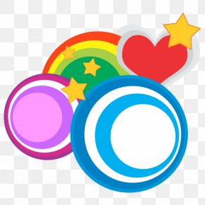Heart Circle Shapes - Circle Shape Clip Art PNG