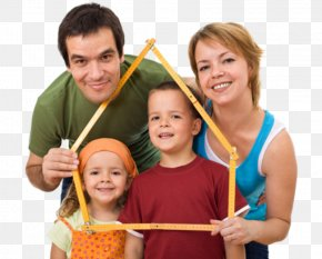 Family - Family House Home Happiness Child PNG