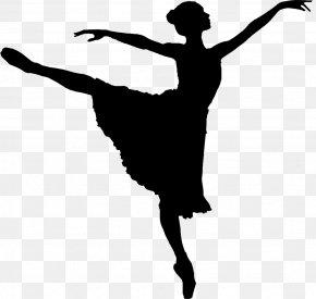 Ballet Silhouette - Free Dance Clip Art PNG