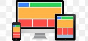 Fluid Grid Layout - Responsive Web Design Website Web Development User Experience PNG