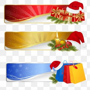Christmas Shopping Tags - Christmas Shopping Gift PNG