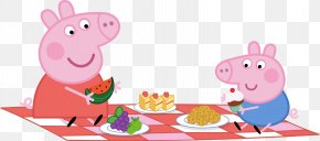 PEPPA PIG - Picnic Party Paper Convite PNG