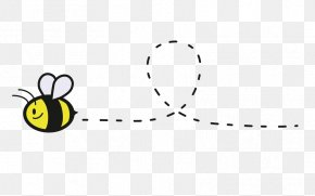 Cute Bumble Bee - Bumblebee Honey Bee Clip Art PNG