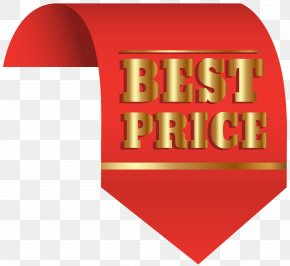 Best Price Red Label Clip-Art Image - Label Price Sticker Clip Art PNG