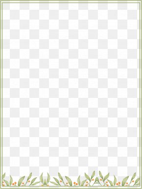 Fresh Green Background Box - Picture Frame Text Animation Photography PNG