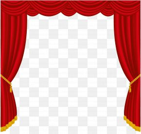 Curtain Cliparts - Curtain Window Blind Clip Art PNG