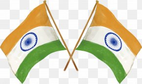 Hand Painted Cross India Flag - Flag Of India National Flag PNG