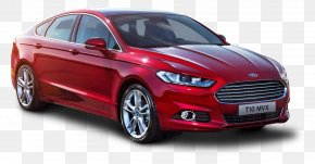 Ford Mondeo Red Car - Ford Mondeo 2015 Ford Focus ST Ford Fiesta Ford S-Max PNG