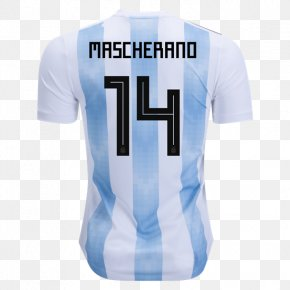 Football - 2018 World Cup 2014 FIFA World Cup Argentina National Football Team Argentina National Under-20 Football Team Jersey PNG