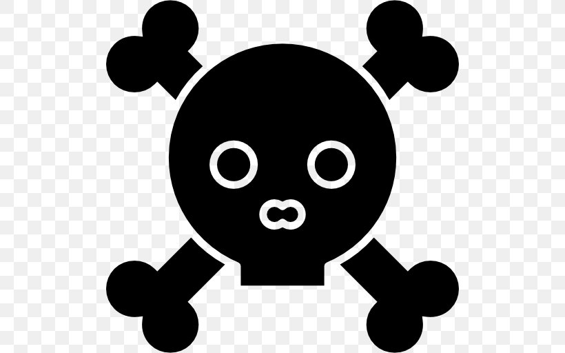 Skull And Crossbones Download, PNG, 512x512px, Skull And Crossbones, Artwork, Black, Black And White, Monochrome Photography Download Free