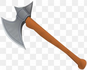 Axe Picture - Middle Ages Battle Axe Clip Art PNG