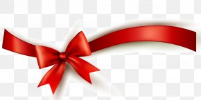 Red Ribbon Ceremony - Red Ribbon Gift PNG