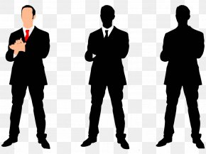 Black And White Man - Cartoon Silhouette Woman Illustration PNG
