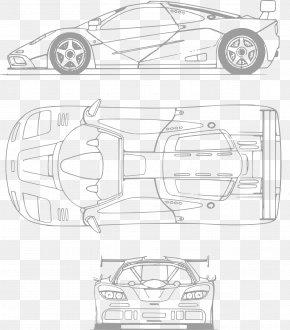 Sports Car - Sports Car Ferrari 330 Blueprint PNG