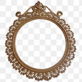 Art Nouveau Frame - Picture Frame Art Nouveau Metal Gold Clip Art PNG