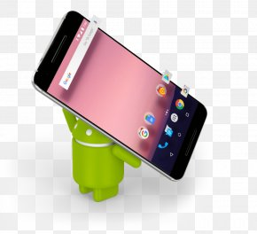 Android Phone - Android Nougat Operating Systems Mobile Operating System Mobile Phones PNG