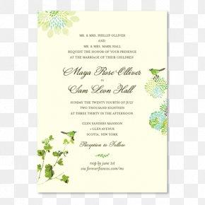 Autumn Invitation Card Mushroom Watercolor - Wedding Invitation Paper Green Wedding Rehearsal Dinner PNG