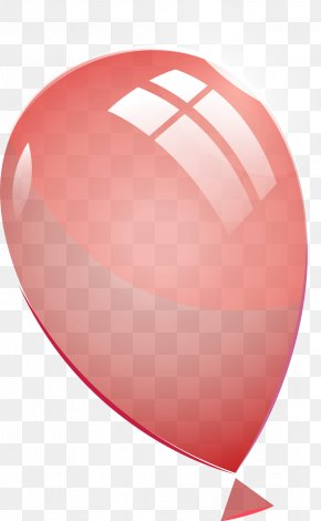 Hand Painted Pink Balloon - Balloon Pink PNG