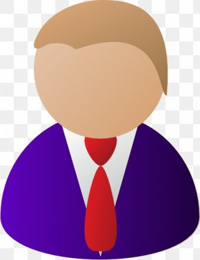 Purple People Cliparts - Businessperson Clip Art PNG