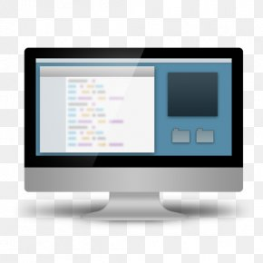 3D Computer - Computer Programming Source Code Icon PNG