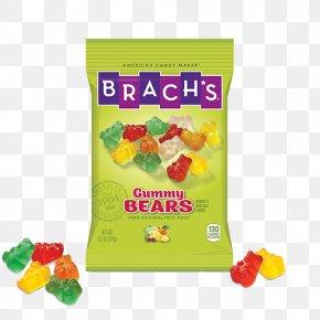 Gummy Bears - Gummy Bear Gummi Candy Sugar Brach's PNG