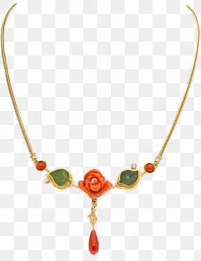 Necklace - Necklace Earring Jewellery Gemstone Clip Art PNG