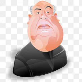 Alfred Hitchcock - Human Behavior Neck Jaw Head PNG