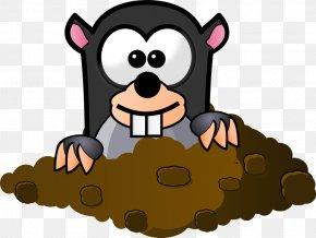 Cartoon Rattlesnake - Mole Day Free Content Clip Art PNG
