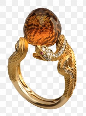 Gemstone Rings - Jewellery Ring Gemstone Gold Diamond PNG
