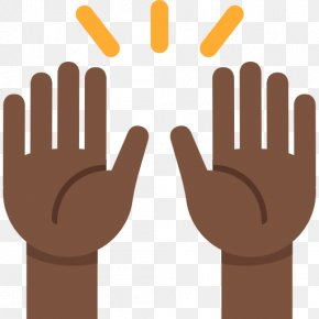 Emoji - Emojipedia Praying Hands Human Skin Color PNG