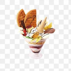 Ice Cream Picture - Ice Cream Sundae Parfait Frozen Yogurt PNG