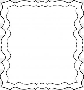 Squiggly Cliparts - Picture Frame Free Content Clip Art PNG