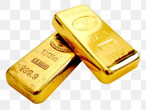 Gold - Gold Bar Gold As An Investment Precious Metal PNG