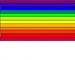 Color Rainbow Cliparts - Rainbow Flag Color Desktop Wallpaper Clip Art PNG