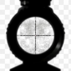 Scopes - Reticle Sniper Telescopic Sight PNG