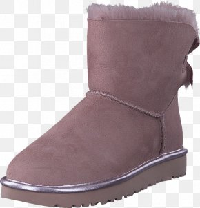 Boot - Snow Boot Suede Shoe Leather PNG