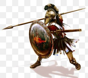 Ancient Soldiers Infantry - Ancient Greece Sparta Hoplite Macedonia Ancient Greek Warfare PNG