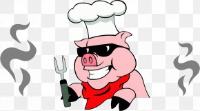 Preparing Clipart - Brook Hollow Winery Pig Roast Barbecue Roasting PNG