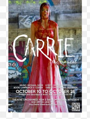 Musical Theatre - Carrie Musical Theatre Stage Gown PNG