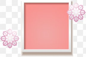 Small Pink Frame - Pink Icon PNG