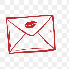 Heart-shaped Envelope - Email Symbol Icon PNG