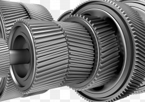 Precision Shaft Screw Structure - Machine Structure Helix PNG
