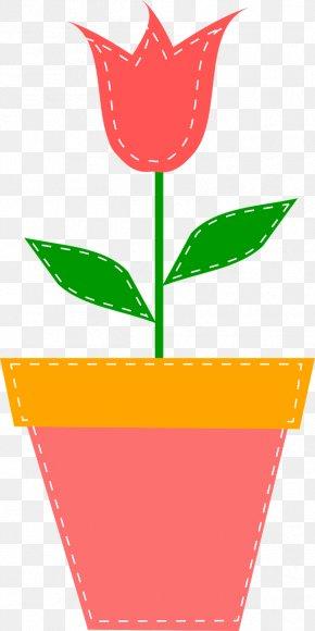 Pot Plant - Cartoon Drawing Clip Art PNG