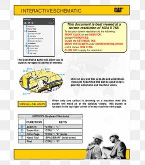 Excavator - Caterpillar Inc. Skid-steer Loader Wiring Diagram Schematic PNG