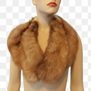 Fur - Fur Clothing Animal Product Neck Textile Stole PNG