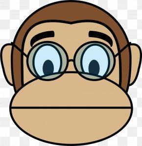 Monkey - Ape Primate Monkey Mandrill Clip Art PNG