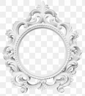 Mirror - Mirror Picture Frames Clip Art Image PNG