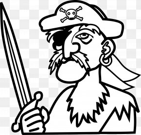 Pirate - Piracy Drawing Coloring Book Clip Art PNG
